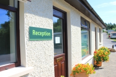 Reception Old Hall Caravan Park