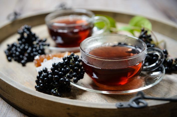 Winter Warmer Elderberry Cordial