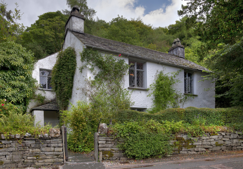 Visit Dove Cottage, the home of poet William Wordsworth. Grasmere