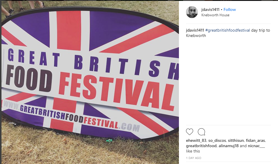 Instagram - British Food Festival
