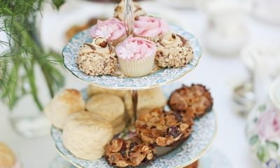 Tasty afternoon tea