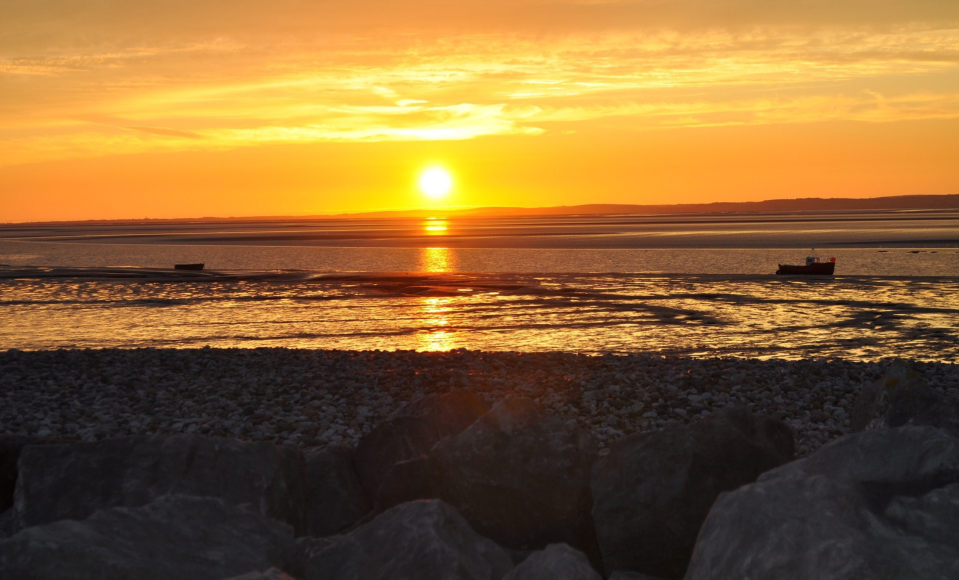 Beautiful Morecambe Sunset