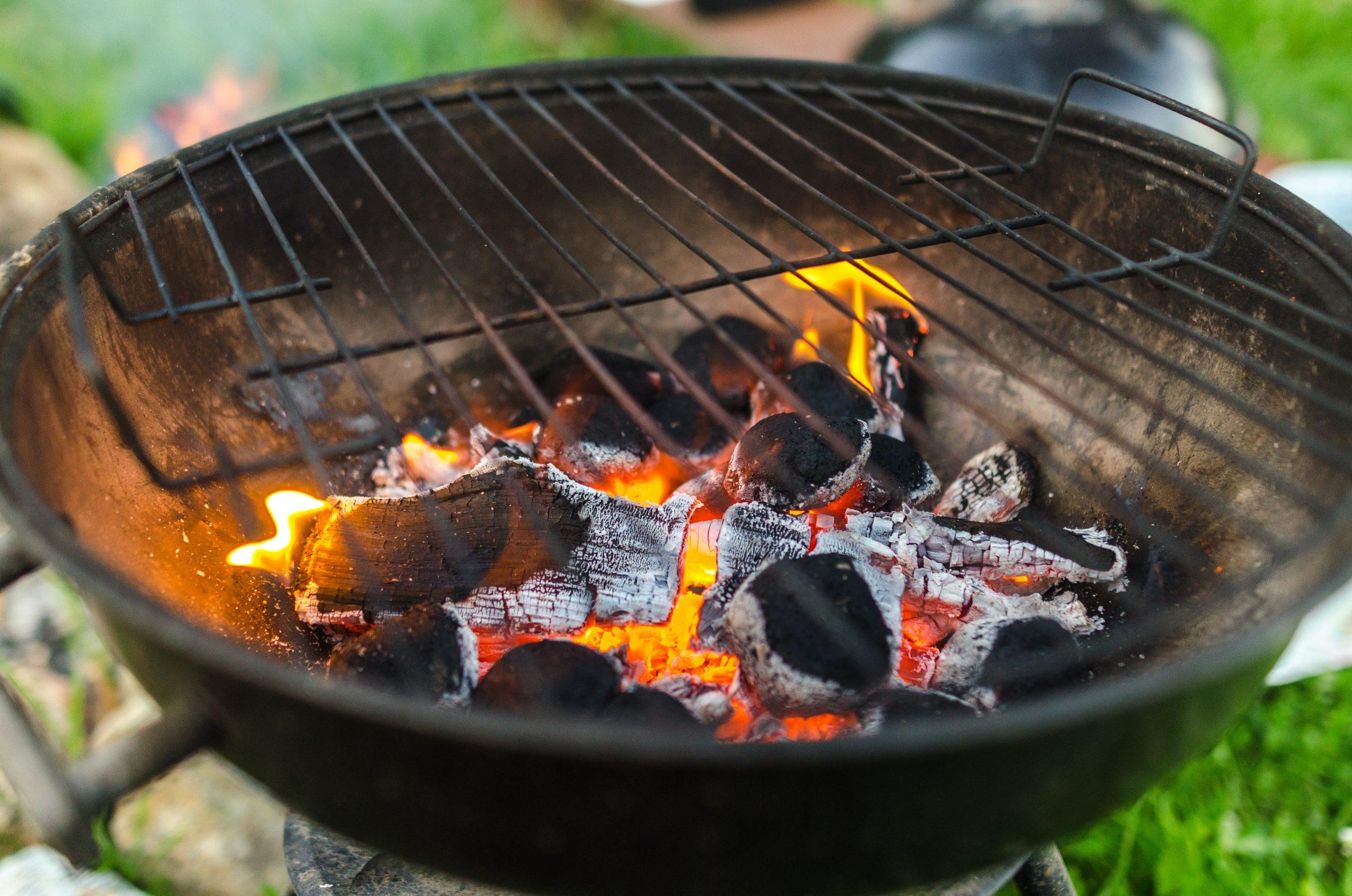 Coal BBQ Burning