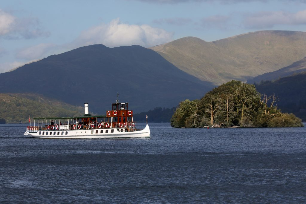 Tourist boat - Lake Windermere - Lake District - England